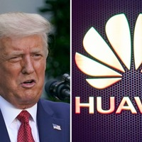 Trump takes credit for convincing UK to ban China's Huawei