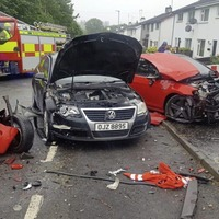 Castlewellan car crash scene `more like a bomb site'