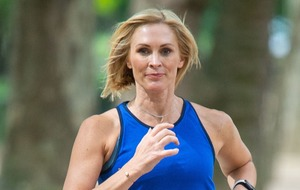 Jenni Falconer unveiled as face and voice of new running app