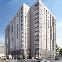 Top half of Belfast student accommodation block to become 266-bed aparthotel, but only for three years