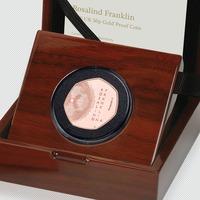 Commemorative coin celebrates British scientist Rosalind Franklin