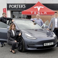 Electric car maker Tesla charges in with Portadown partnership