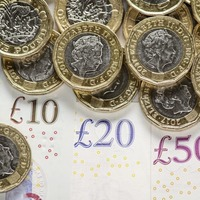UK's quarterly borrowing hits record high of £127.9 billion