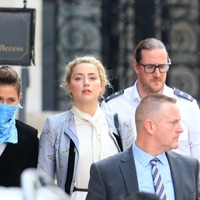 Amber Heard continues evidence in Johnny Depp 'wife beater' libel trial