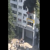 Young brothers jump from building to escape fire in France