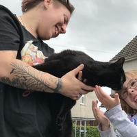 'Unrecognisable' cat reunited with owners after two months