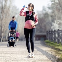 Is it OK to continue running while pregnant? Usually, as long as you're sensible...