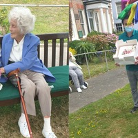 104-year-old honoured by British Heart Foundation after raising £50,000