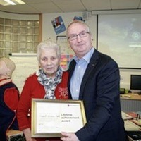 Co Down pensioner awarded special edition commemorative coin for her outstanding contribution to British Red Cross