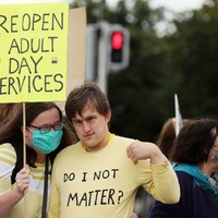 Fully reopen adult disability day services, protesters urge government