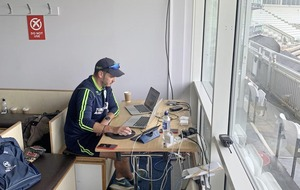 Belfast man Scott Irvine behind the screens for Cricket Ireland