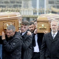 Mourners hear deaths of three members of Co Derry family 'leave a gap that can never be filled'