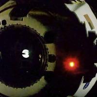 Nasa astronauts depart ISS en route to first splashdown return in 45 years