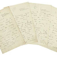 Oscar Wilde's 'embryonic' plot for The Importance of Being Earnest up for auction