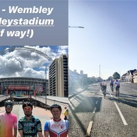 Friends hope bike ride to 21 London football grounds will inspire fundraisers