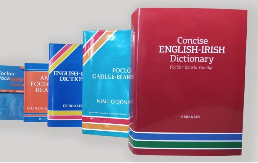 New English-Irish dictionary will be making its way to shops later this month