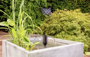 Gardening: How to make a water feature work in a small garden