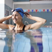 Claire Simpson: Returning to the swimming pool was like coming home