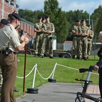 Captain Sir Tom 'delighted' to be honorary colonel of Army training college