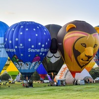 More than 40 hot air balloons perform 'flypast' over Bristol