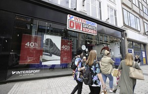 Dozens of jobs set to be lost after DW Sports collapse triggers closure of retail stores and gyms