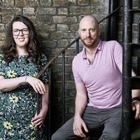 Lisa McGee and husband Tobias Beer on their new television drama The Deceived