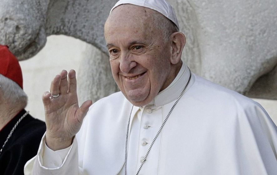 Pope has first public audience in 6 months
