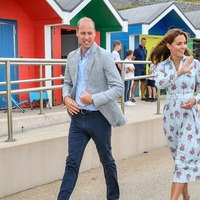 William and Kate walk in Gavin and Stacey's footsteps during Barry Island visit