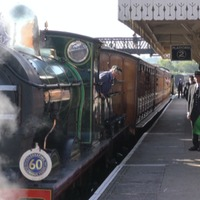 Train-mad boy empties money box to get favourite steam railway back on track