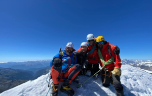 'Unbelievable': First above-the-knee double amputee summits Matterhorn