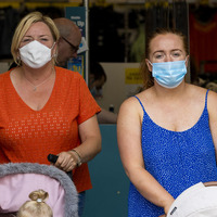 Retail NI: Some customers are not social distancing and hand sanitising because they have masks on