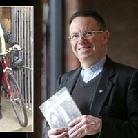 West Belfast priest 'grateful' for support after bicycle stolen