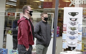 Call to remain on Covid high alert as masks made compulsory