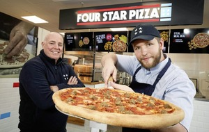 Four Star Pizza opens first outlet in Craigavon
