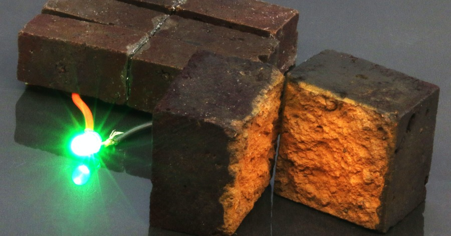 Scientists develop method to store 'substantial amount of energy' in red bricks - The Irish News