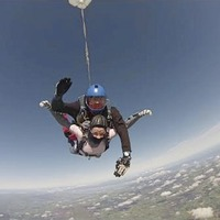 Morgan Barnard's mum does parachute jump in memory of son who died in Greenvale Hotel tragedy