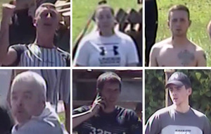 Police release images of people they wish to speak to over anti-internment bonfire disorder