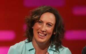Miranda Hart wakes face-to-face with fox during heatwave