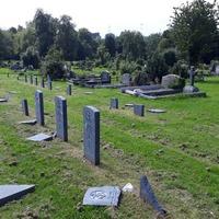 War graves damaged in Belfast City Cemetery