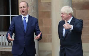 Boris Johnson 'looking forward to developing relationship east-west, north-south' with Taoiseach Micheál Martin