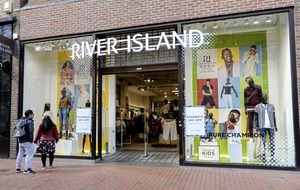 River Island to cut 350 jobs in management shake-up