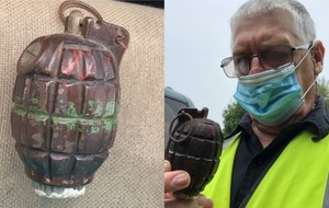 Warning after woman attempts to drive WW2 grenade to police station