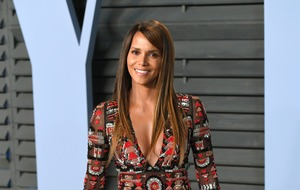 Halle Berry skateboards in swimwear to celebrate 54th birthday