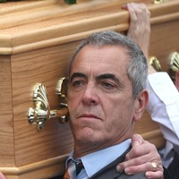 Father of actor James Nesbitt 'so proud' of children, mourners told