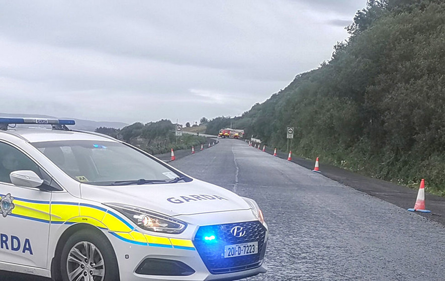 One man and two children have died following a Donegal road crash