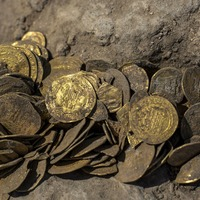 Early Islamic gold coins unearthed by archaeologists in Israel
