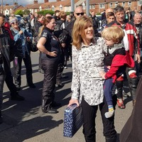 'Dream come true' for four-year-old as 150 bikers wish him happy birthday