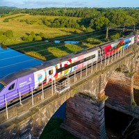 Rainbow on rails: Pride train with all-LGBT+ crew to make inaugural journey