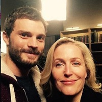 Gillian Anderson shares unseen photos with Jamie Dornan from The Fall