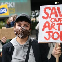Creatives stage protest against 1,000 South Bank job cuts